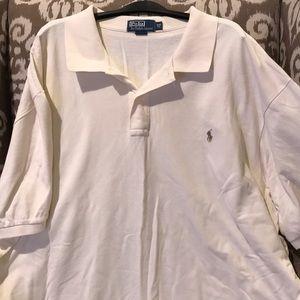 Men's polo shirt in Vanilla. Perfect condition.